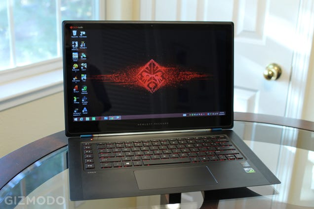 Hp omen review this gaming laptop does so much right