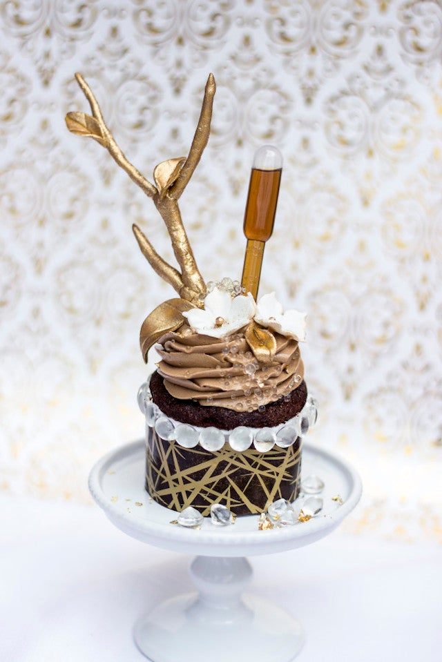 Most Expensive Cupcake Contender Is a Beautiful Waste Of Chocolate, Gold