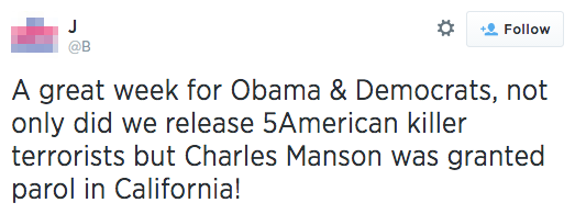 Charles Manson Is Still In Prison and He's Feeling Just Fine, Thanks