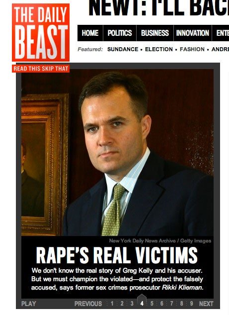 'Rape's Real Victims' Are Accused Rapists, Says Former Prosecutor