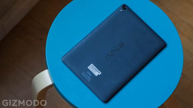 ​Nexus 9 Review: Google's Flagship Tablet Is Nothing Special