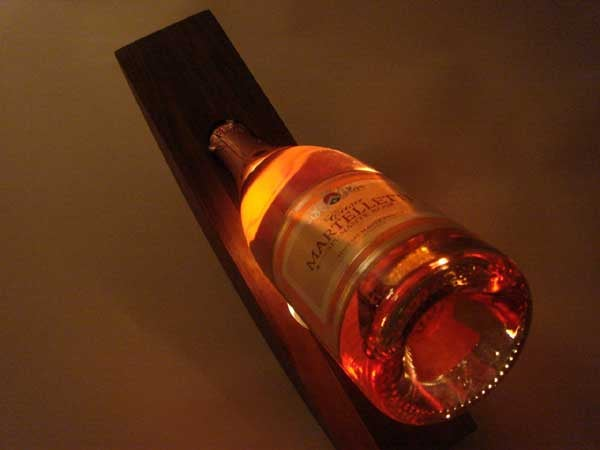 Boozy Lamp Lets the Spirits Shine Through