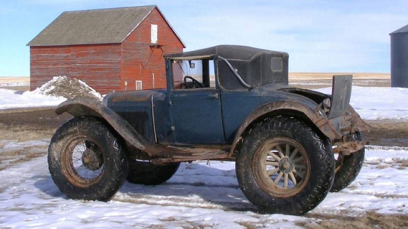 Is This 1931 Ford Cabriolet The Original Monster Truck?
