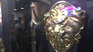 Behold The <em>Warcraft</em> Movie's Doomhammer, Lion Shield, And Dragon Sword