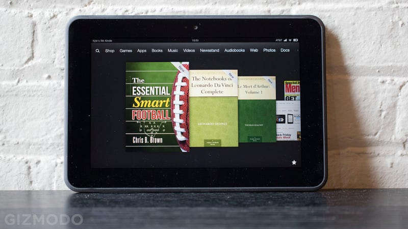 Kindle Fire HD 8.9-Inch First Impressions: Is This the Comfiest Big Tablet?