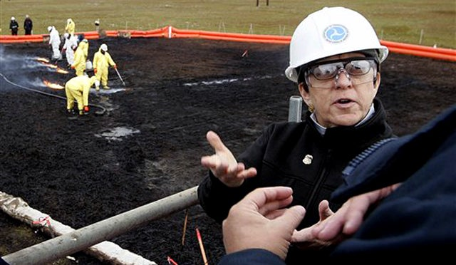 BP Fined for Another Oil Spill