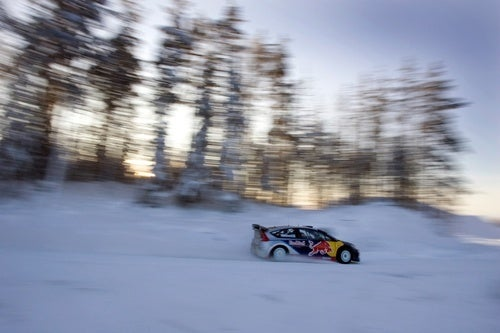 Kimi Raikkonen Rallying