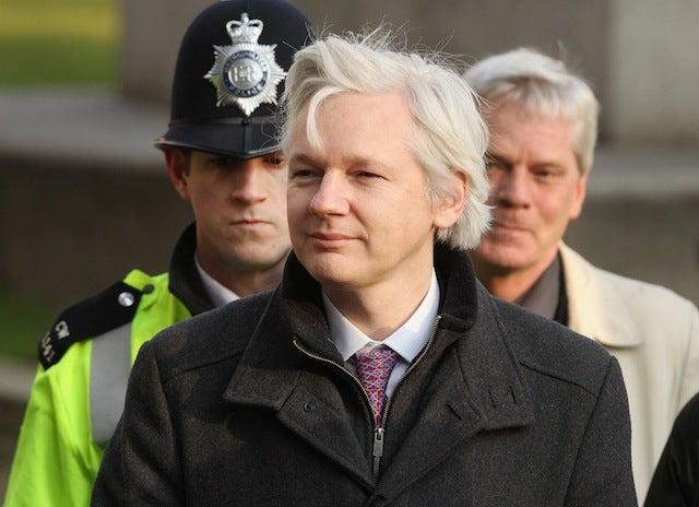 Julian Assange Is Now Seeking Political Asylum In London's Ecuador Embassy