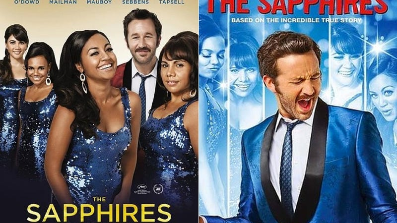 The Sapphires US DVD Cover Relegates Black Female Stars to Background