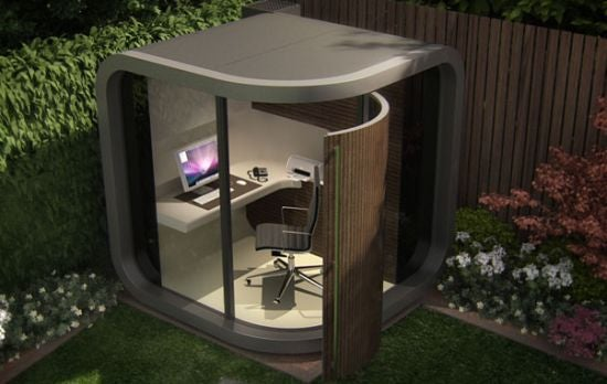 OfficePod Provides An Outdoor Sanctuary For People That Work From Home