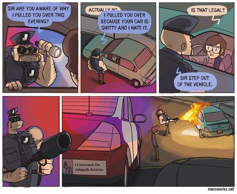 A much more accurate car comic