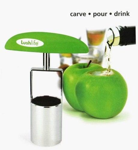 ShotCarver Transforms Fruit Into Evil Booze Holder