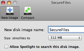 SecureFiles is a Dead Simple Volume Encryption Application