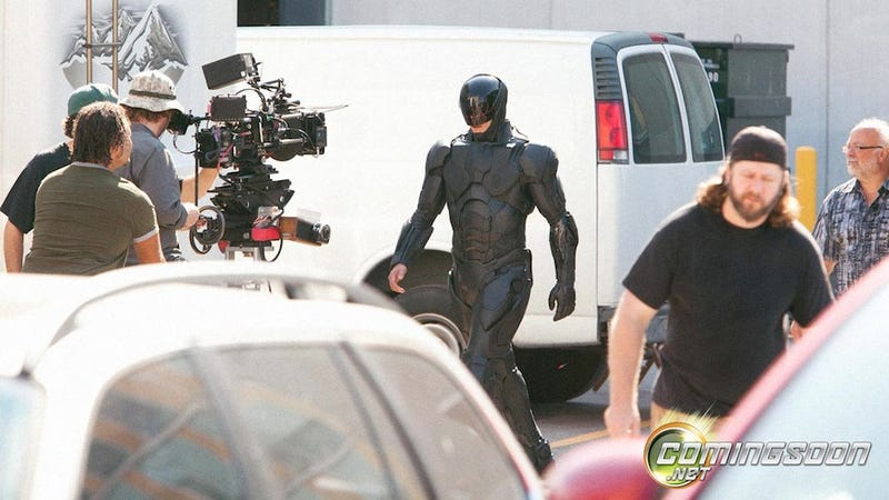 Oh Hi There, New RoboCop Suit. You Look Sort Of Mass Effect-y.