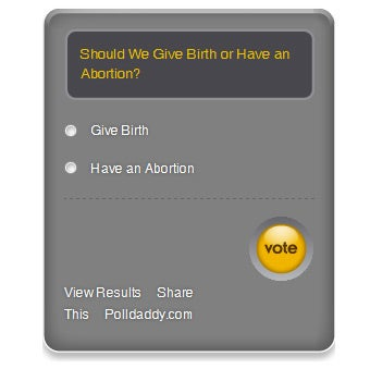 Vote on Whether This Couple Gets an Abortion