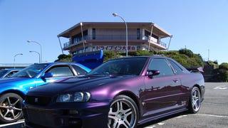 I love midnight purple GTR's so much.