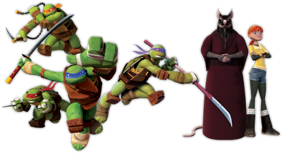 The new Teenage Mutant Ninja Turtles look like shelled pistachios