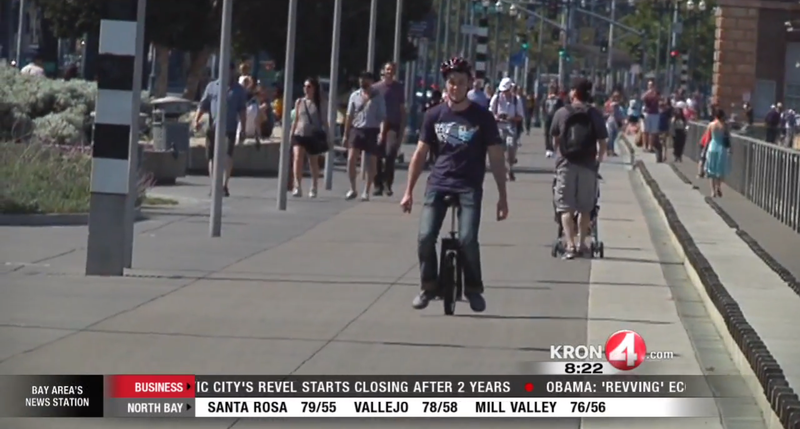 There's a New Segway Craze In San Francisco