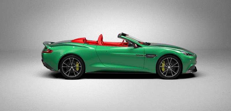 The Aston Martin Vanquish Volante configurator lets you do this!