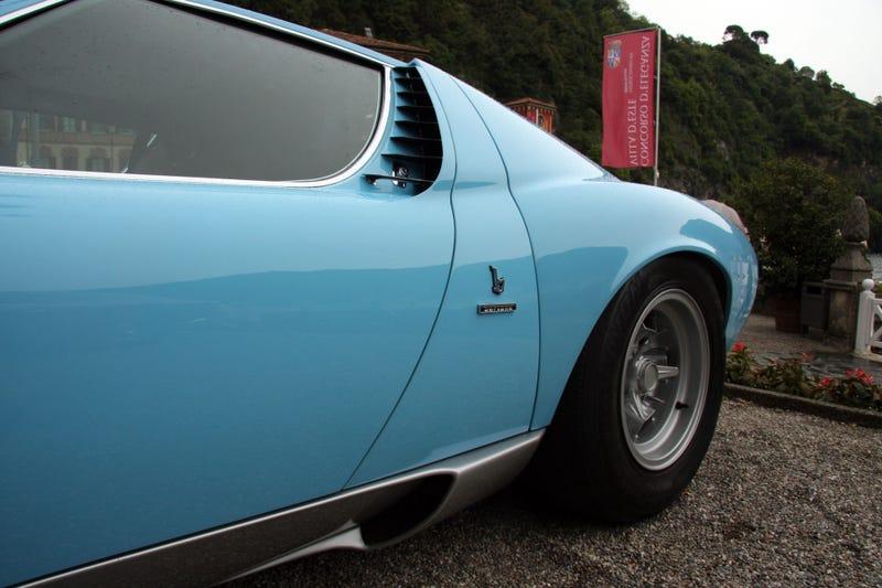 Even The Lamborghini Miura's Tires Scream Speed
