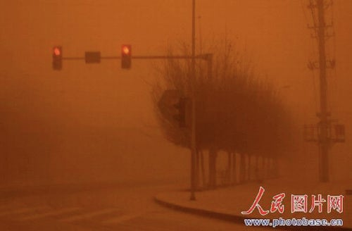 Sandstorms Turn China Into Earthly Arrakis