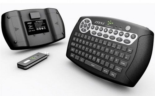 MSI Air Keyboard Mouse Is Like a QWERTY Keypad Crossed With a Wiimote