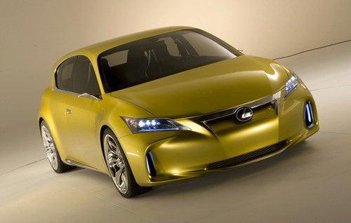 Lexus LF-Ch Concept Scowls At 1-Series, A3