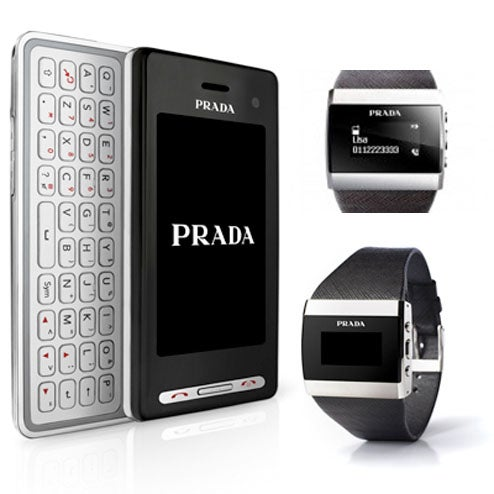 Prada II Phone Comes With a Swanky Little Bluetooth Watch
