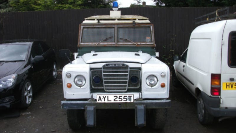 Buy The Land Rover That Defended England In Two Riots & Earned TV Fame