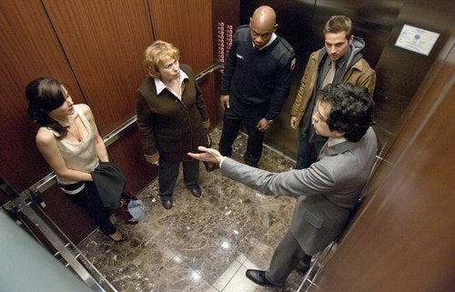 Shyamalan's Satanic elevator ride won't blow your mind, but it's better than his last 3 films