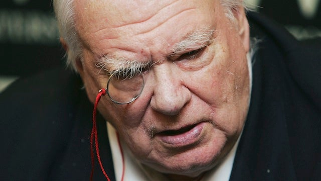 R.I.P. Sir Patrick Moore, who brought the mysteries of space into the living room