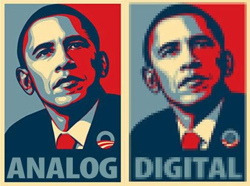 Obama Asks Congress for Analog TV Shutdown Delay