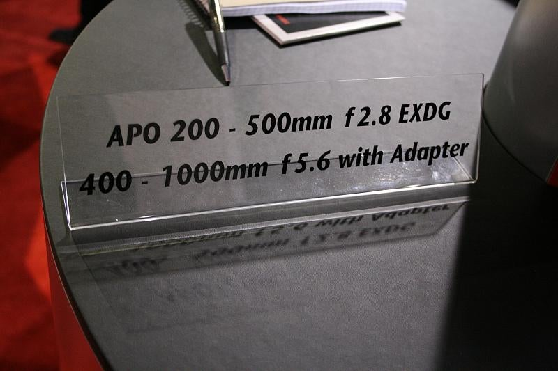 The Most Massive Lens at PMA 2008