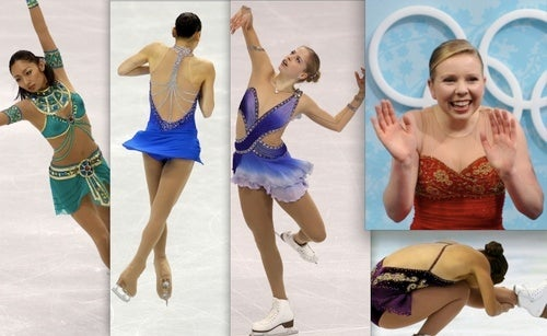 Do Female Figure Skaters' Boobs Get Sore?