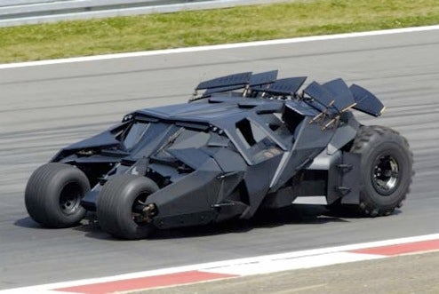 Everything You Ever Wanted To Know About Batman's Tumbler