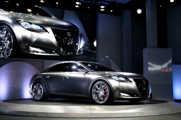 Suzuki Kizashi 3 Concept Debuts, Actual Kizashi To Go On Sale In 2010
