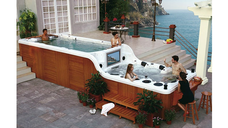 This Ridiculous Hot Tub Is Larger Than Some New York Apartments