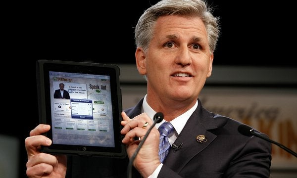 Congress Will Allow the Use of Electronic Devices in the House