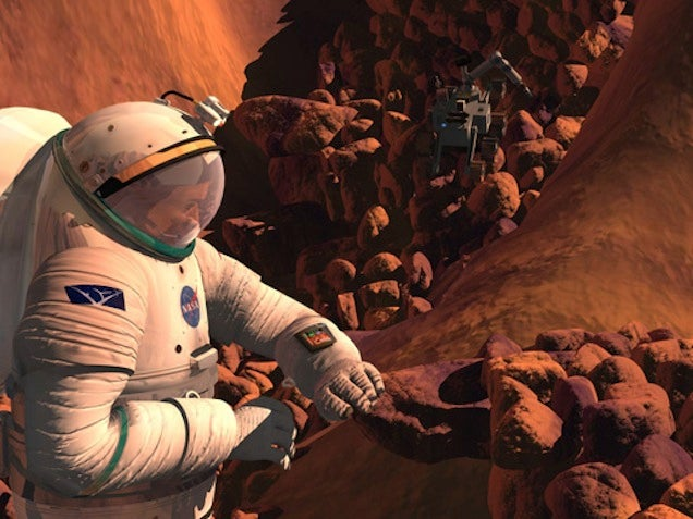 Could Microbes From Earth Make It To Mars -- And Survive There?