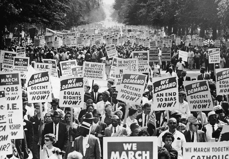 The March on Washington Had a Major Sexism Issue