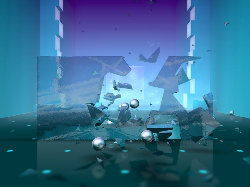 Every Amazing Glass Shattering Physics Demo Is Now A Video Game