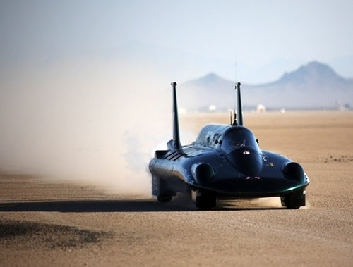 British Steam Car Powers Past 127MPH Record, Unofficially