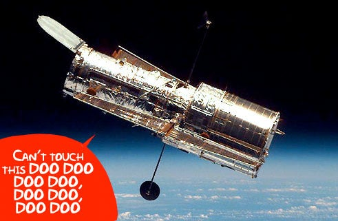 Hubble's 486 Backup Computer Wakes Up For the First Time Since 1990