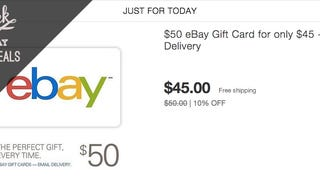Prep for Cyber Monday with This Discounted eBay Gift Card