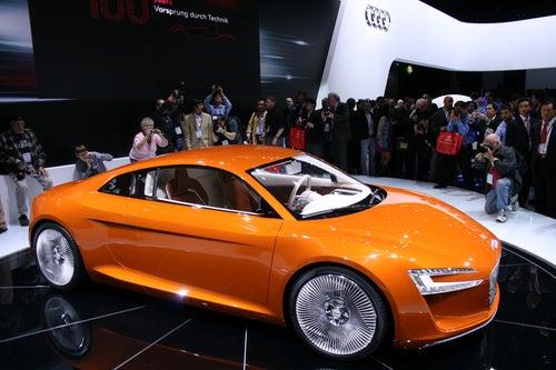 Audi E-Tron Concept Gallery