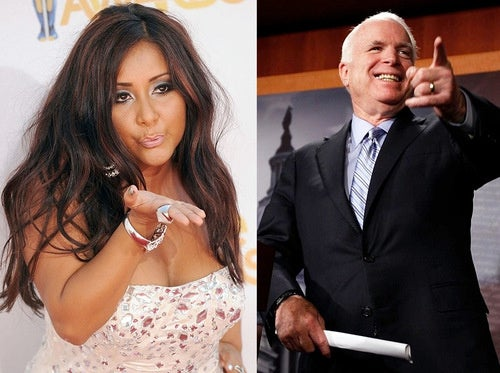John McCain Continues Publicly Flirting with Snooki