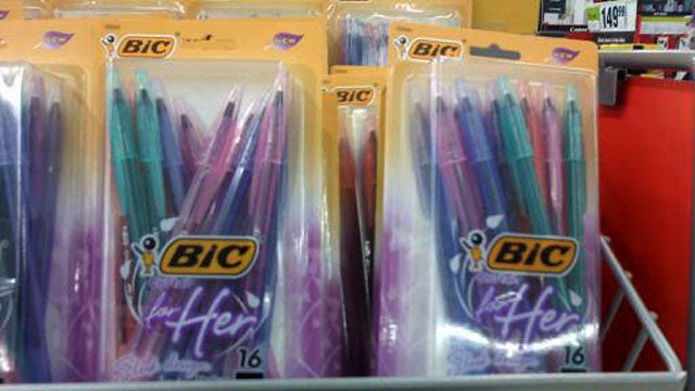 Bic For Her: Finally, A Pen Ladies Can Use