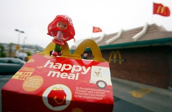 McDonald's Sued Over Happy Meal Toys