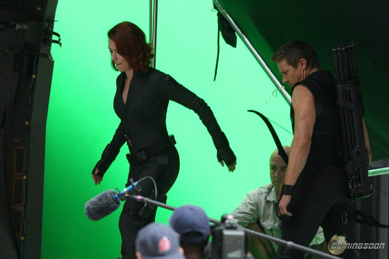 Avengers Set Photos, Labor Day Weekend