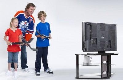 EA Sports Brings NHL Slapshot, Mini-Hockey Sticks, to Wii